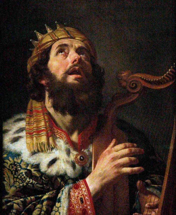 David Plays Harp