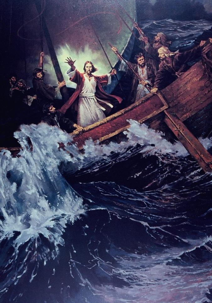 Jesus Calms a Storm