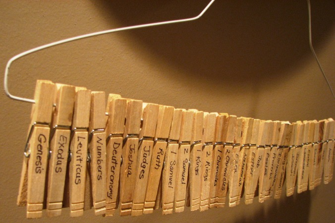 Bible Clothespins