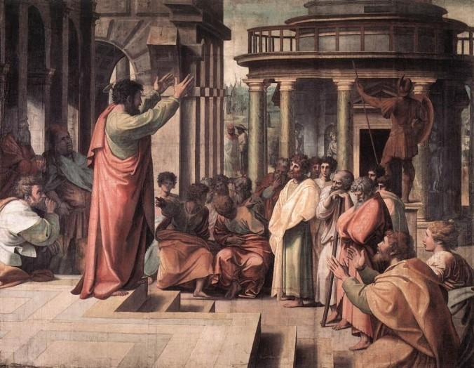 Apostle Preaching