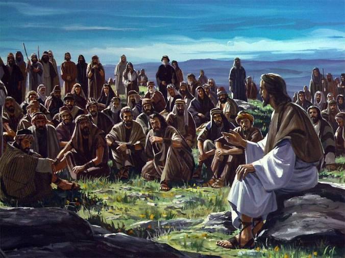 Jesus Teaches a Crowd
