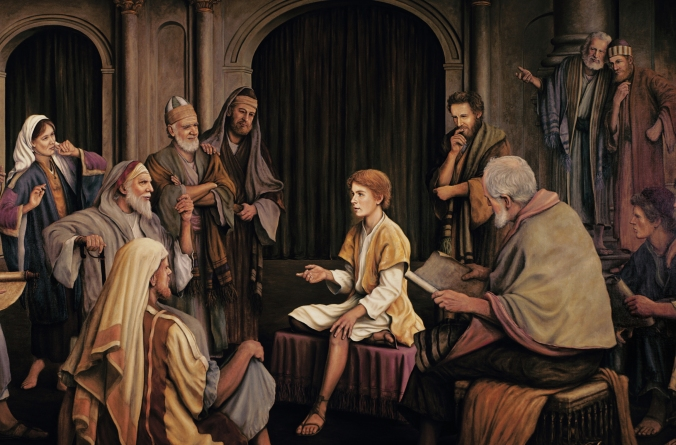 Jesus at the Temple